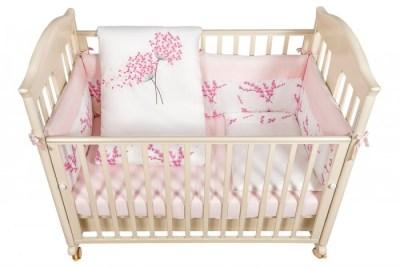 Комплект в кроватку Bebe Luvicci Blossom (6 предметов)