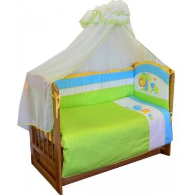 Комплект в кроватку Soni Kids Джунгли (7 предметов)