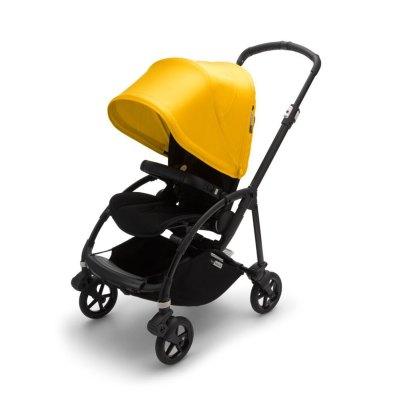 Коляска прогулочная Bee6 Complete Black/Black-Lemon Yellow Bugaboo