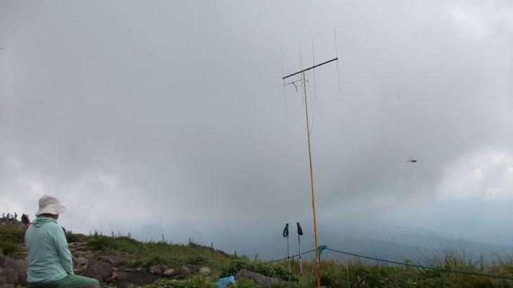 車山(霧ヶ峰) <2034m> (JA/NN-076) 長野県茅野市/長野県諏訪市