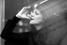 Шарлотта Рэмплинг. Москва. Кинотеатр «Ударник». 2000. ©Александр Тягны-Рядно.