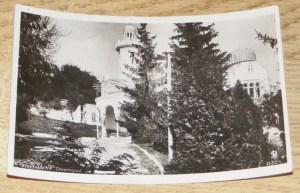 На открытке 1935 года затерта фамилия Бухарина