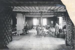 Летний барак в Кузнецкстрое, 1929 год