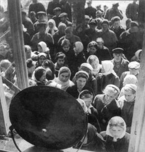 9 мая 1945 года. Колхоз Торошковичи Лужского района.