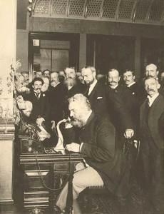 Первый в мире разговор по телефону