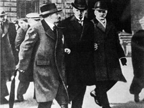 Ленин в Стокгольме. 1917 год