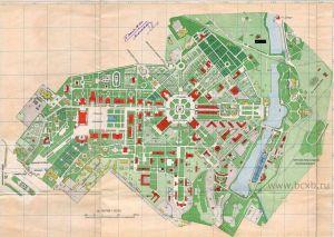 План ВСХВ в 1941 году