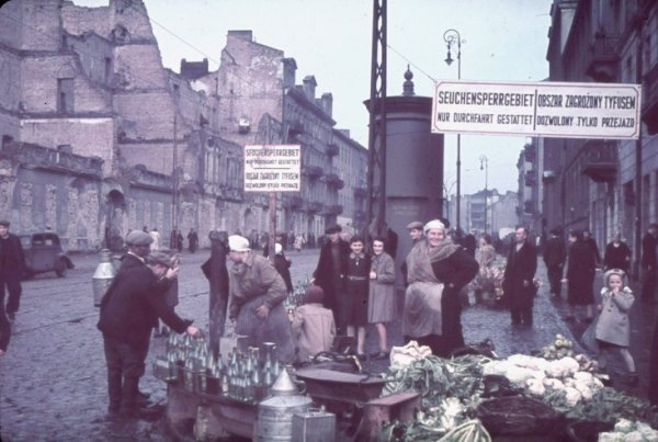 Оккупированная Варшава