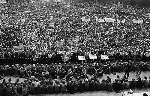 Демонстрация в Новочеркасске. 1962 год
