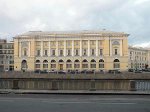 Здание МВД, в котором располагалась типография им. Володарского