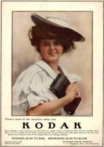 Рекламный плакат Kodak