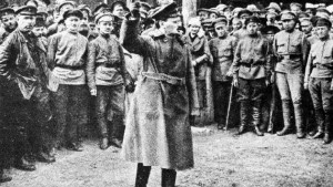 Глава РВС Лев Троцкий