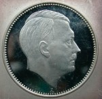 Так и не запущенная в оборот монета с профилем Гитлера