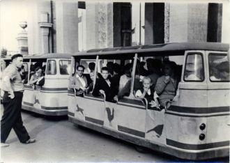 Автопоезд на ВДНХ. 1963 год