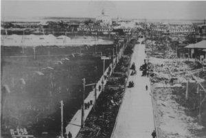 Поселок Судострой. 1936 год