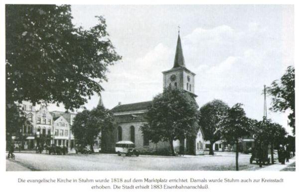 Рынок прусского города Штум