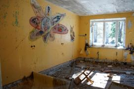 В этой комнате дети когда-то травили страшные истории на ночь...