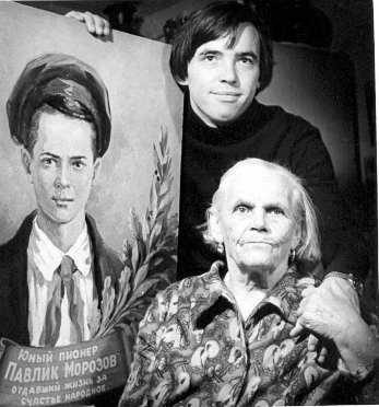 Татьяна Морозова с младшим сыном