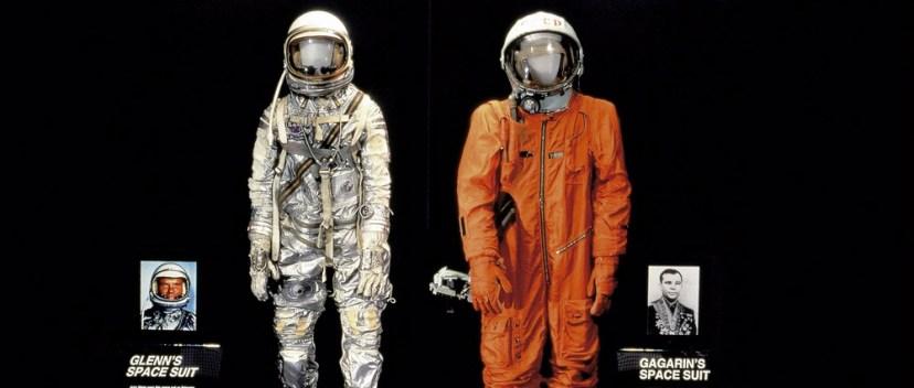 Скафандр Ю.А.Гагарина в Вашингтонском музее космонавтики