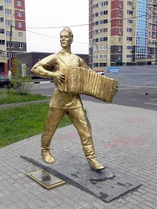 Памятник В.Тёркину в Орехово-Зуево
