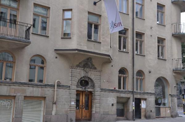 Дом №7 по улице Далагатана в Стокгольме сегодня