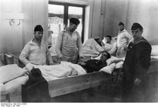 """Раненые на борту """"Вильгельма Густлоффа"""". Август 1940 года"""