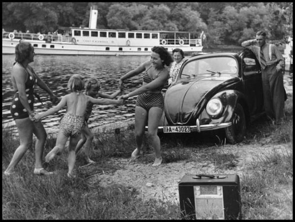 Немцы на отдыхе. Конец 30-х