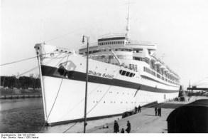 """Wilhelm Gustloff"" - санитарное судно. 1939 год"