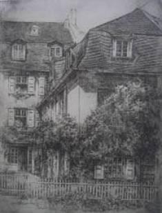 Одна из ранних работ Йозефа Аренса