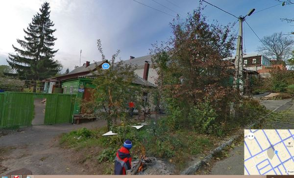 Дом, где жил студент Николай Золотухин. Фото из Яндекс-карты.
