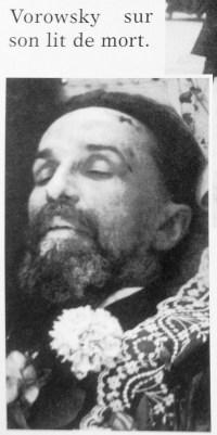 Погибший от рук Конради Вацлав Воровский