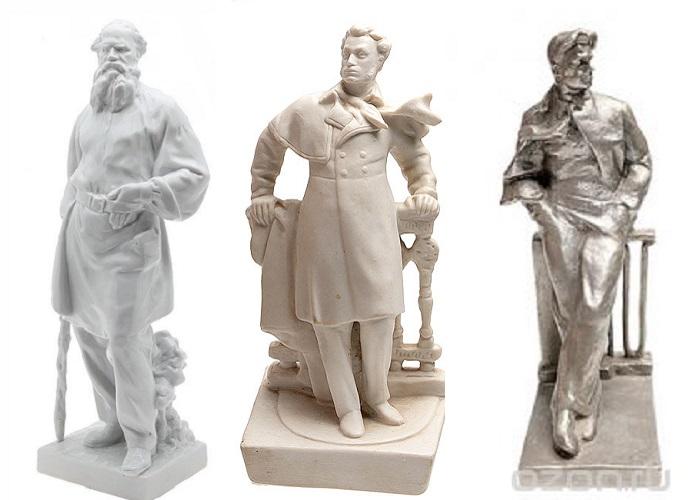 Статуэтки писателей и поэтов украшали квартиры большинства советских граждан
