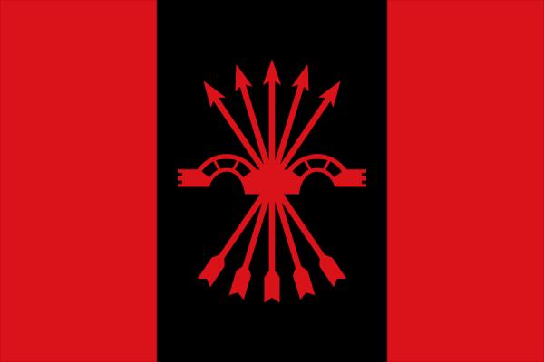 Флаг фалангистов