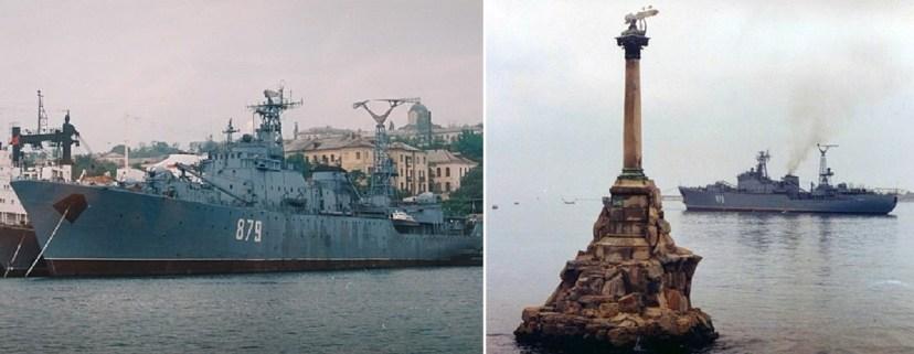 """Плавбаза """"Волга"""", названная в честь одноименной испанской фронтовички"""