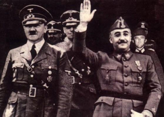 Гитлер и Франко
