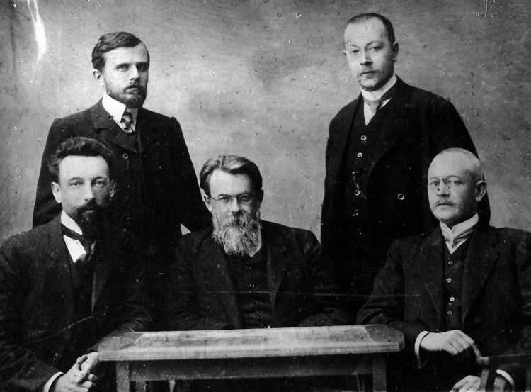 В.И.Вернадский со своими единомышленниками