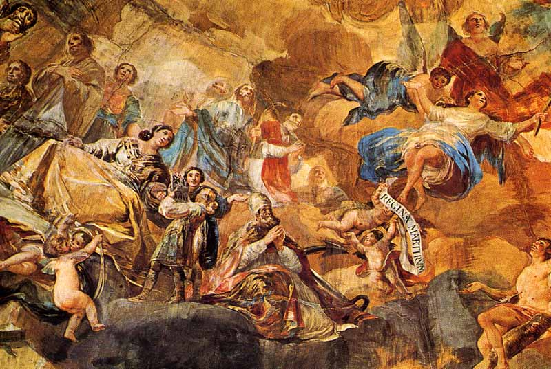 Фрески в базилике