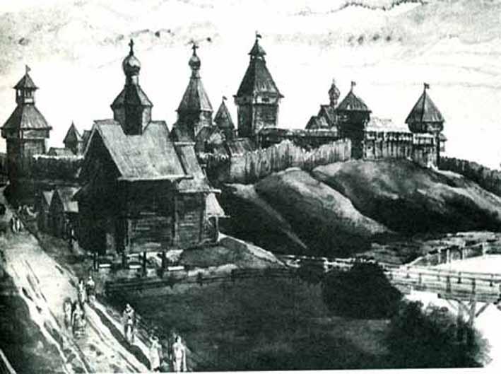Кремль при Юрии Долгоруком