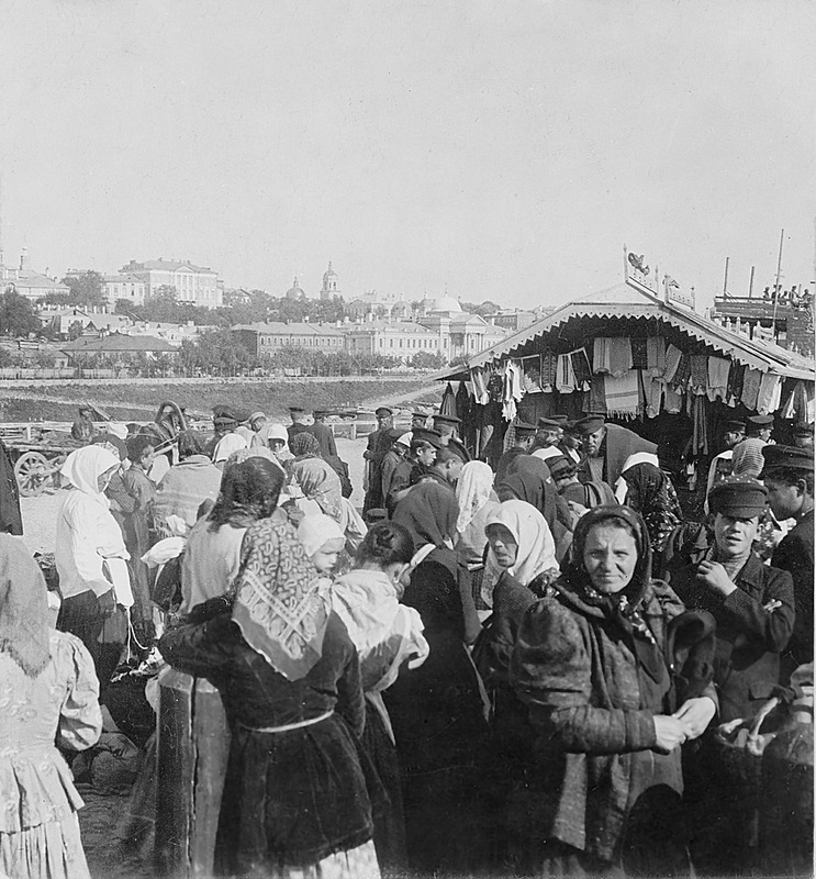 Вид на Вшивую Горку. 1900 год
