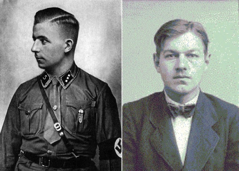Хорст Вессель и Альбрехт Гёлер