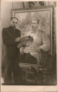 Борис Карпов за работой