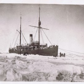 Фото: советский ледокол «Таймыр», 1938 г.
