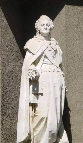 Скульптура Екатерины II работы А.М.Опекушина