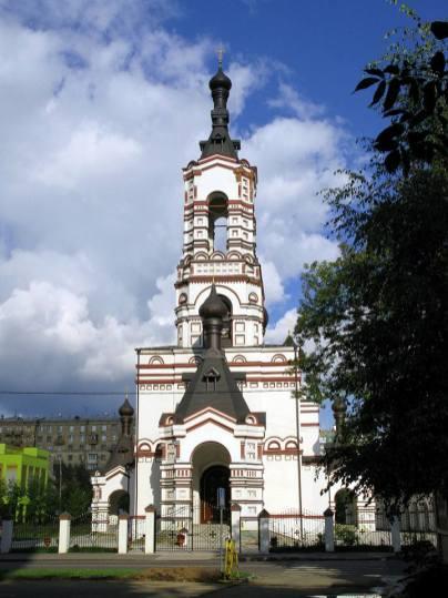 Храм Дмитрия Солунского на Благуше, арх. Н.И.Орлов