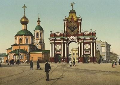 013-Красные ворота 1900