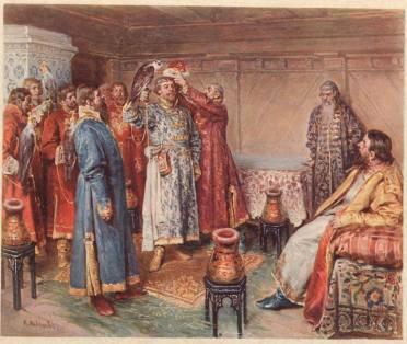 При царе Михаиле Фёдоровиче охота стала статусным мероприятием, на неё даже приглашали послов.