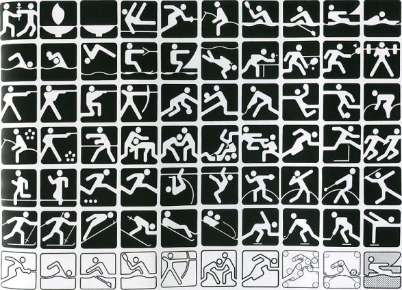 Пиктограммы к Олимпиаде-80