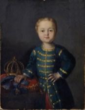Император Иоанн VI в младенчестве.