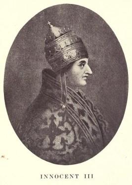 Римский Папа Иннокентий III.