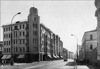 Здание Военторга в советское время (1980-е г)